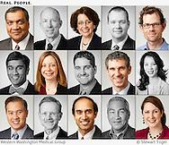 Portraits of Western Washington Medical Group doctors.