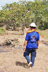 Aki Ra Walking To Demining Operations