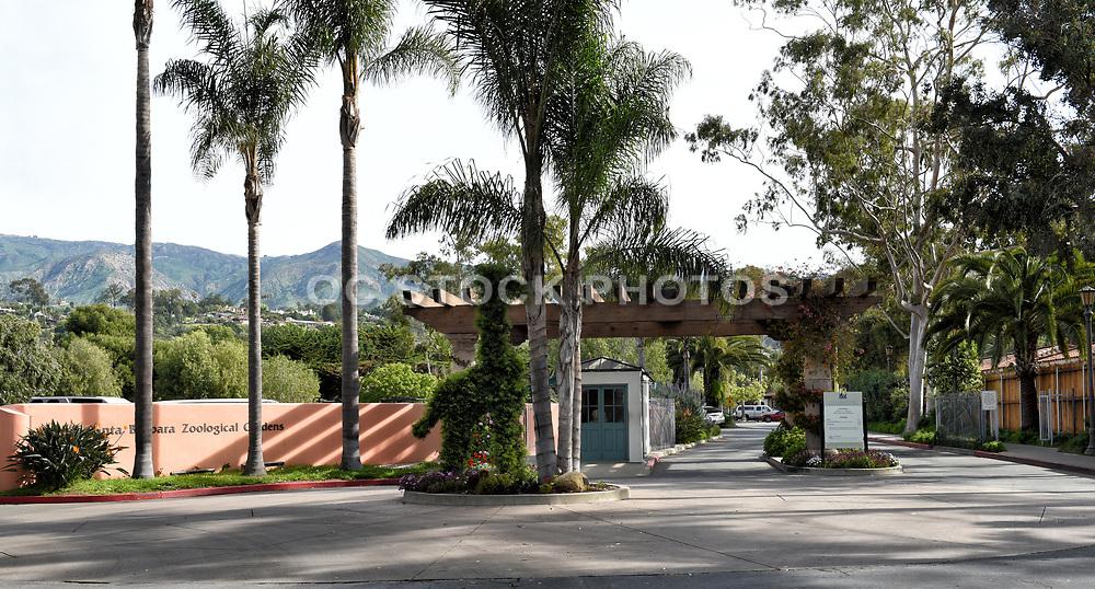 Santa Barbara Zoological Gardens Entrance