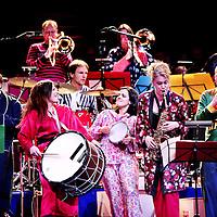 Nederland,Amsterdam ,31 december 2007..Nieuwjaarsconcert van het Nederlands Blazersensemble in het concertgebouw.