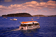 Image of boats in Bar Harbor on Mount Desert Island in Maine, American Northeast by Randy Wells