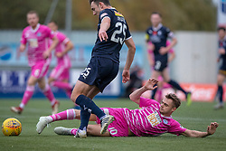 Falkirk's Andrew Irving and Ayr United's Alan Forest half time : Falkirk 0 v 0 Ayr United, Scottish Championship game played 3/11/2018 at The Falkirk Stadium.
