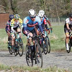 14-03-2021: Wielrennen: GP Oetingen: Oetingen: Natalie van Gogh