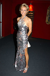 "LADY ALEXANDRA SPENCER-CHURCHILL at the 10th annual British Red Cross London Ball.  This years ball theme was Indian based - ""Yaksha - Yakshi: Doorkeepers to the Divine"" and was held at The Room, Upper Ground, London on 1st December 2004.  Proceeds from the ball will aid vital humanitarian work, including HIV/AIDS projects that the Red Cross supports in the UK and overseas.<br />