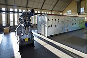 Nederland, Nijmegen, 16-3-2016Interieur van het Hollandsch Duits gemaal wat overtollig water uit de Ooijpolder en de Duffelt naar de waal, rijn pompt .FOTO: FLIP FRANSSEN/ HH