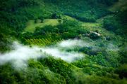 Farmhouse in the Italian landscape, Assisi, Italy