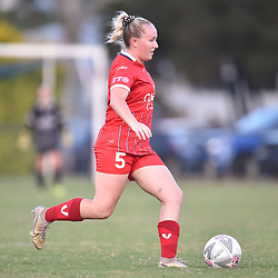 BRISBANE, AUSTRALIA - FEBRUARY 6:  during the friendly match between Olympic FC and Annerley FC on February 6, 2021 in Brisbane, Australia. (Photo by Patrick Kearney)