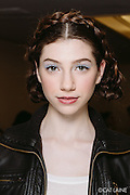 PROVIDENCE, RI - FEB 13: Emily Levy poses backstage prior to the Jess Abernethy show as part of StyleWeek NorthEast on February 13, 2015 in Providence, Rhode Island. (Photo by Cat Laine)