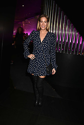 Laura Pradelska at the STK Ibiza themed brunch party at STK London, London, England. 7 May 2017.<br /> Photo by Dominic O'Neill/SilverHub 0203 174 1069 sales@silverhubmedia.com