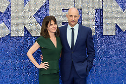 May 20, 2019 - London, England, United Kingdom - Mark Strong (R) and Liza Marshall arrive for the UK film premiere of 'Rocketman' at Odeon Luxe, Leicester Square on 20 May, 2019 in London, England. (Credit Image: © Wiktor Szymanowicz/NurPhoto via ZUMA Press)