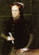 Mary I by Hans Eworth, 1554. Hans Eworth. Mary I (18 February 1516 – 17 November 1558) was Queen regnant of England and Ireland from July 1553 until her death