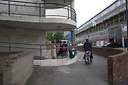 The Aylesbury Estate, a large housing estate located in Walworth on 15th June 2016 in South London, United Kingdom. The Aylesbury Estate contains 2,704 dwellings and was built between 1963 and 1977. The estate is partially occupied and is currently undergoing a major redevelopment.