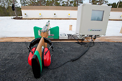 Visually Impaired Shooting Range, 2015 IPC Nordic and Biathlon World Cup Finals, Surnadal, Norway