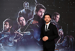 Diego Luna attending a special screening of Rogue One: A Star Wars Story at the BFI IMAX, London. PRESS ASSOCIATION Photo. Picture date: Tuesday December 13, 2016. See PA story SHOWBIZ Rogue One. Photo credit should read: Ian West/PA Wire