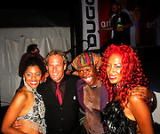 The CHIC Band (Nile Rodgers, Sylver Logan Sharp & Audra Lomax) And Michael Bolton .Smock Magazine Launch Party.South Street Seaport.New York, NY.June 26, 2001.Photo By CelebrityVibe.com..