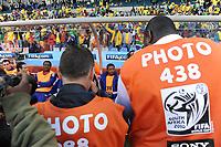 FOOTBALL - FIFA WORLD CUP 2010 - GROUP STAGE - GROUP A - FRANCE v SOUTH AFRICA - 22/06/2010 - PHOTO FRANCK FAUGERE / DPPI - PATRICE EVRA (FRA)