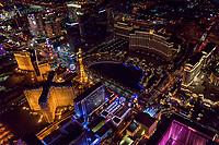 Paris & Bellagio Hotels, Las Vegas Boulevard