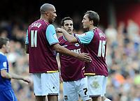 Football - The Championship - West Ham United vs. Leicester City<br /> John Carew - WHUtalks with Mark Noble
