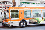 Pasadena Transportation Metro Local Bus on Colorado Boulevard