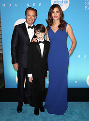 Kyle MacLachlan, Callum MacLachlan and Desiree Gruber at the UNICEF USA's 14th Annual Snowflake Ball in New York City.