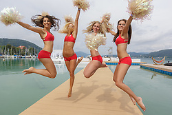 29-07-2014 AUT: FIVB Grandslam Volleybal, Klagenfurt<br /> Dance beachvolleybal girls<br /> ***NETHERLANDS ONLY***