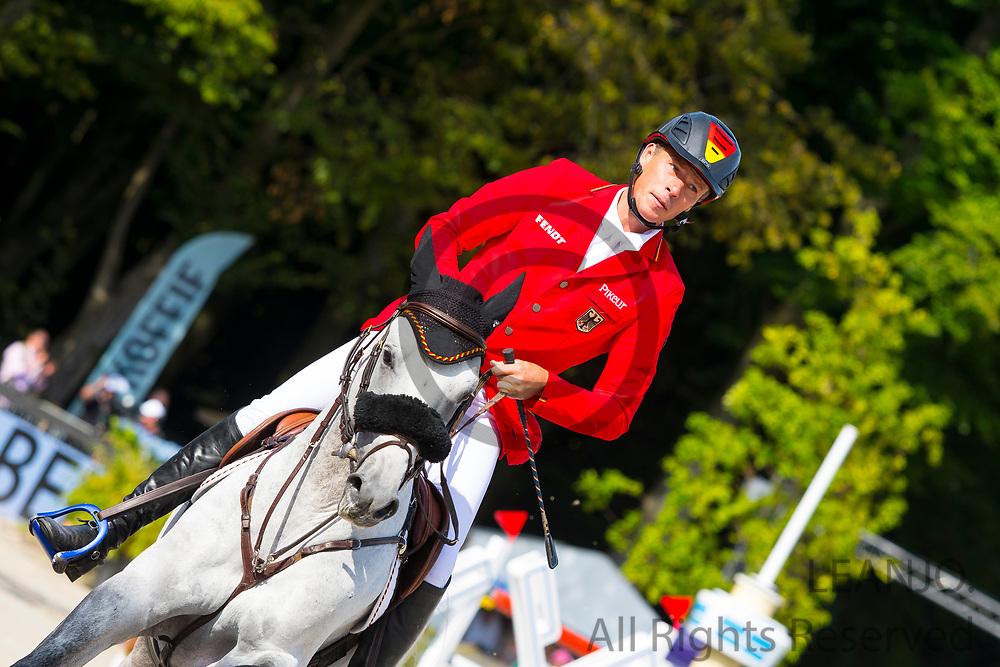 Christian Ahlmann - Clintrexo Z<br /> FEI European Championships 2019<br /> © DigiShots