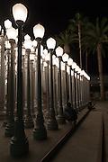 Urban Light at LACMA of Los Angeles