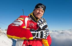 04.10.2010, Rettenbachferner, Soelden, AUT, Medientag des Deutschen Skiverband 2010, im Bild DSV-Sportdirektor Wolfgang Maier. EXPA Pictures © 2010, PhotoCredit: EXPA/ J. Groder