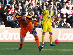 February 17, 2019 - Doncaster, United Kingdom - Crystal Palace's Wayne Hennessey.during FA Cup Fifth Round between Doncaster Rovers and Crystal Palace at Keepmoat stadium , Doncaster, England on 17 Feb 2019. (Credit Image: © Action Foto Sport/NurPhoto via ZUMA Press)