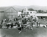 1918 Movie making at American Film Co., Santa Barbara, CA.