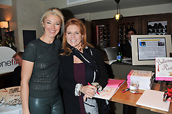 Left to right, TAMARA BECKWITH and SARAH, DUCHESS OF YORK at the Delicious Glamourous Girls Christmas Bazaar held at The Little Black Gallery & 11 Park Walk, Park Walk, London on 27th November 2012.