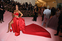 Halsey attends The 2019 Met Gala Celebrating Camp: Notes on Fashion at Metropolitan Museum of Art on May 06, 2019 in New York City.<br /> Photo by ABACAPRESS.COM