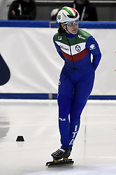 February 8, 2019 - Torino, Italia - Foto LaPresse/Nicolò Campo .8/02/2019 Torino (Italia) .Sport.ISU World Cup Short Track Torino - 1500 meter Ladies Quater Finals.Nella foto: Cecilia Maffei..Photo LaPresse/Nicolò Campo .February 8, 2019 Turin (Italy) .Sport.ISU World Cup Short Track Turin - 1500 meter Ladies Quater Finals.In the picture: Cecilia Maffei (Credit Image: © Nicolò Campo/Lapresse via ZUMA Press)
