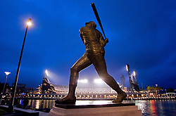 Willie McCovey statue at AT&T Park in San Francisco, 2010