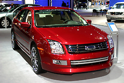 09 February 2006:  Ford Fusion by 3D Carbon.....Chicago Automobile Trade Association, Chicago Auto Show, McCormick Place, Chicago IL