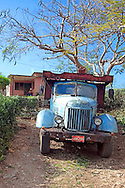 Truck near Gibara, Holguin, Cuba.