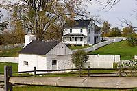 Joseph Poffenberger Farm, Antietam National Battlefield, Sharpsburg, Maryland, USA.