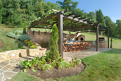 13661 Wilt Store Rd., Leesburg, VA Deck patio Verandah Porch stone wall