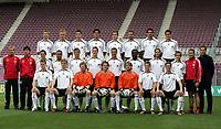 Fotball<br /> Tyskland landslag VM 2006<br /> 25.05.2006<br /> Foto: imago/Digitalsport<br /> NORWAY ONLY<br /> <br /> WM Kader Deutschland: hi.v.li.: Hitzlsperger, Hanke, Friedrich, Ballack, Klose, Nowotny, Metzelder, Kehl; Mitte: Bundestrainer Klinsmann, Co Trainer Löw, Neuville, Odonkor, Schneider, Schweinsteiger, Podolski, Asamoah, Frings, Lahm, Torwarttrainer...; ... Köpke, Teammanager Bierhoff; vorn: Huth, Mertesacker, Kahn, Lehmann, Hildebrand, Jansen und Borowski<br /> Lagbilde Tyskland