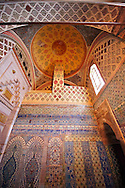Tiled passage to the Privy Chamber of Sultan Murad III. Topkapi Palace, Istanbul, Turkey<br /> <br /> If you prefer to buy from our ALAMY PHOTO LIBRARY  Collection visit : https://www.alamy.com/portfolio/paul-williams-funkystock/topkapi-palace-istanbul.html<br /> <br /> Visit our TURKEY PHOTO COLLECTIONS for more photos to download or buy as wall art prints https://funkystock.photoshelter.com/gallery-collection/3f-Pictures-of-Turkey-Turkey-Photos-Images-Fotos/C0000U.hJWkZxAbg