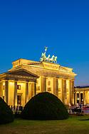 Brandenburg Gate, Berlin, Germany