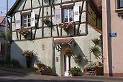 half timbered house dahlenheim alsace france