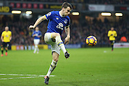 Seamus Coleman of Everton in action. Premier league match, Watford v Everton at Vicarage Road in Watford, London on Saturday 10th December 2016.<br /> pic by John Patrick Fletcher, Andrew Orchard sports photography.