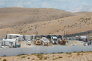 Construction site in the Judaean Desert, West Bank