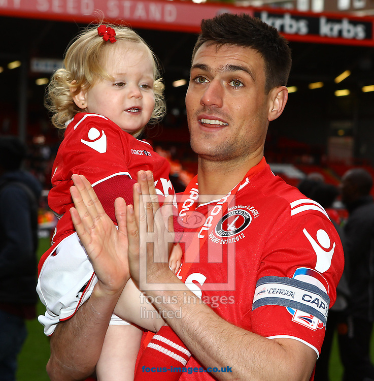 Picture by John Rainford/Focus Images Ltd. 07506 538356.05/05/12.Johnnie Jackson of Charlton Athletic after the Npower League 1 match at The Valley stadium, London.