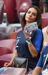 Jennifer Giroud during the 2018 FIFA World Cup final football match between France and Croatia in Moscow, Russia on july 15, 2018. Photo by Christian Liewig/ABACAPRESS.COM