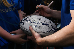 May 13, 2018 - Dublin, Ireland - Leinster players meet their fans during the homecoming ceremony at Energia Park, Donnybrook, following their victory in the European Champions Cup Final in Bilbao, Spain..On Sunday, May 13, 2018, in Donnybrook, Dublin, Ireland. (Credit Image: © Artur Widak/NurPhoto via ZUMA Press)