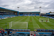 General view inside the Priestfield Stadium before the EFL Sky Bet League 1 match between Gillingham and Charlton Athletic at the MEMS Priestfield Stadium, Gillingham, England on 27 April 2019.