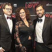 NLD/Amsterdam/20181126 - premiere All You Need Is Love, Sabine Brian en Kaja Wolffers