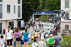 Finish line during 3rd Stage of 26th Tour of Slovenia 2019 cycling race between Zalec and Idrija (169,8 km), on June 21, 2019 in Slovenia. Photo by Matic Klansek Velej / Sportida